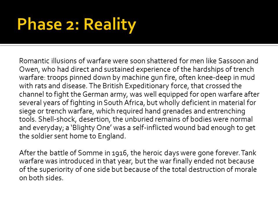 Phase 2: Reality