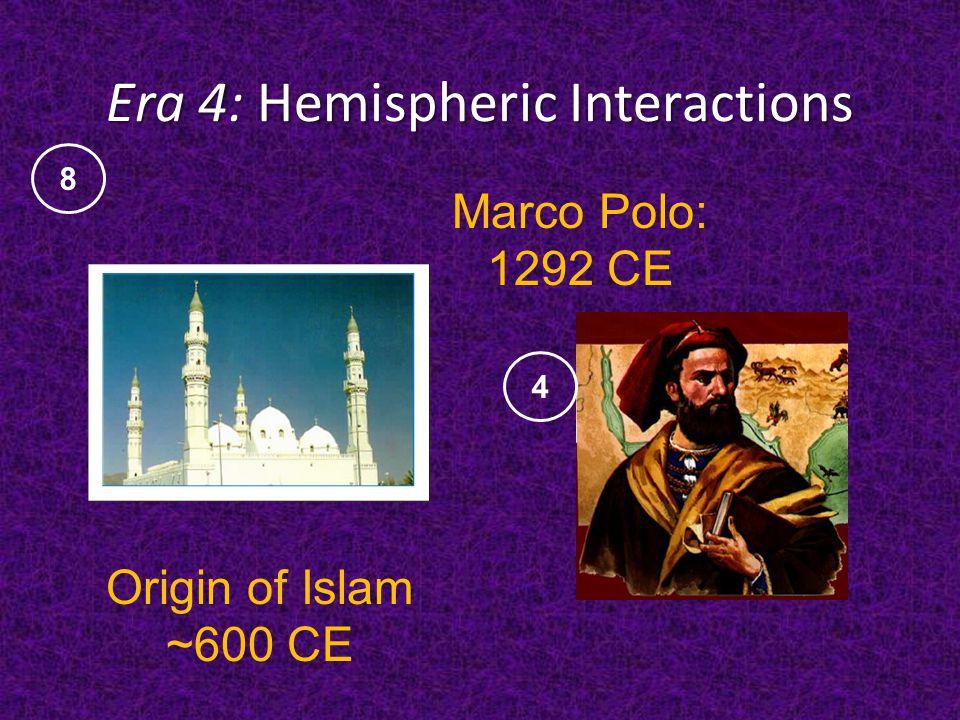 Era 4: Hemispheric Interactions