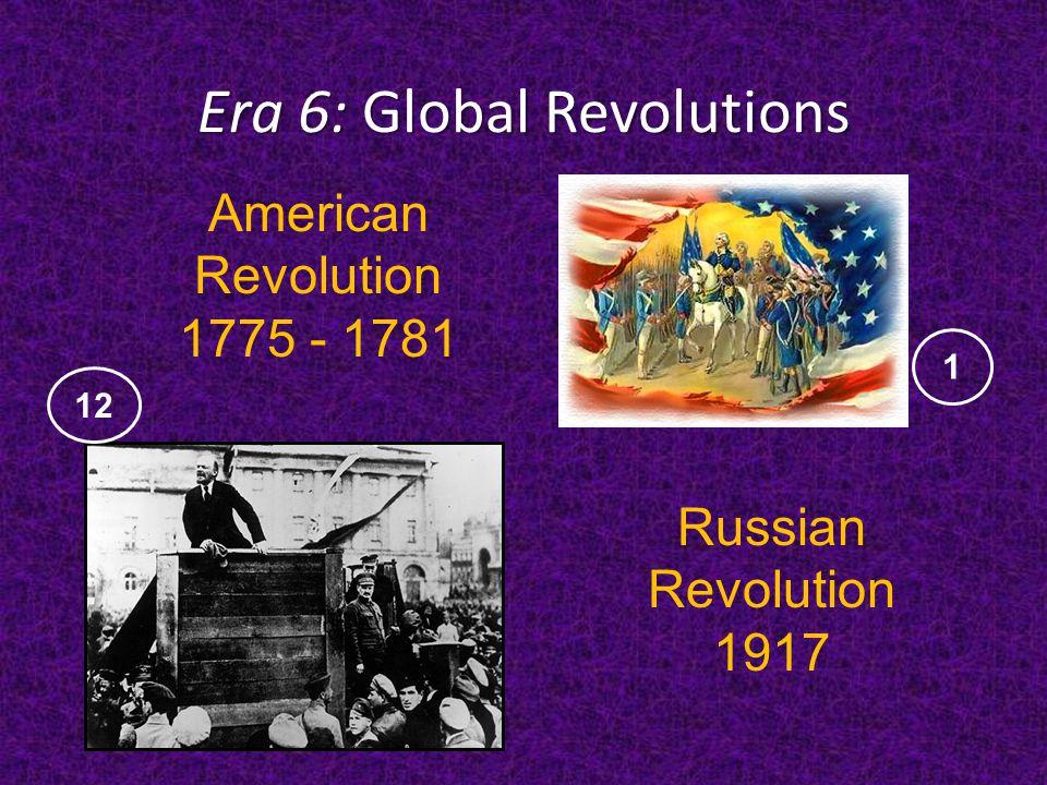 Era 6: Global Revolutions