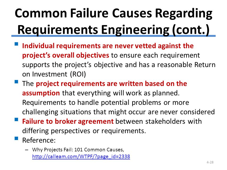 Five Common Issues in Requirements Analysis
