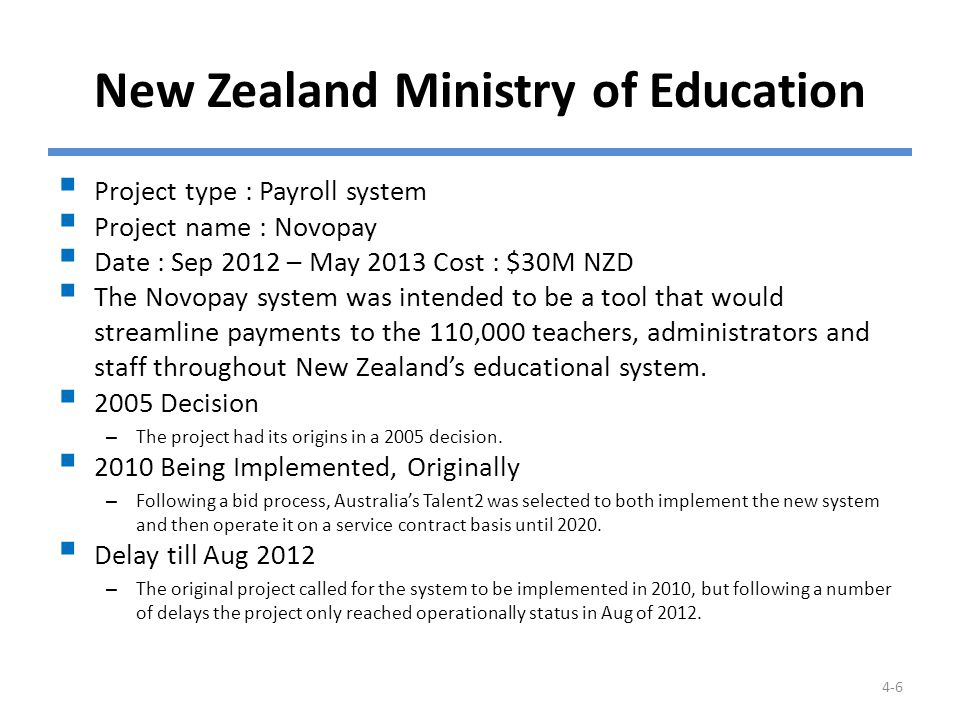 Operational Problems Some school employees reported receiving incorrect payments while others were paid nothing at all.