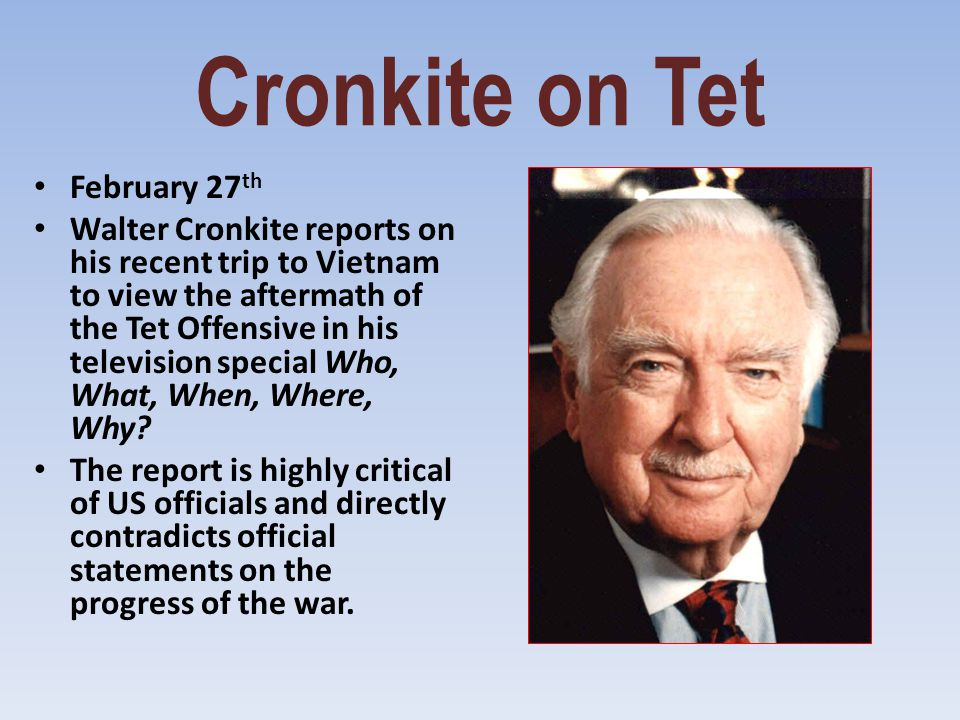 Cronkite on Tet February 27th