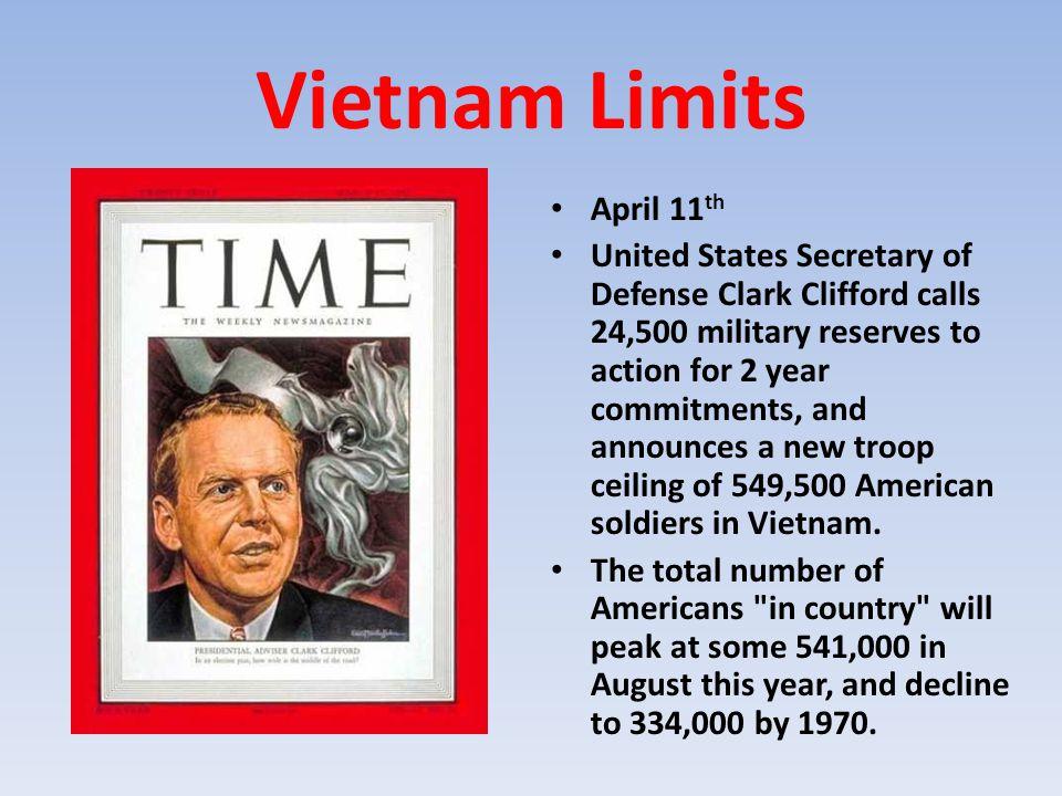 Vietnam Limits April 11th