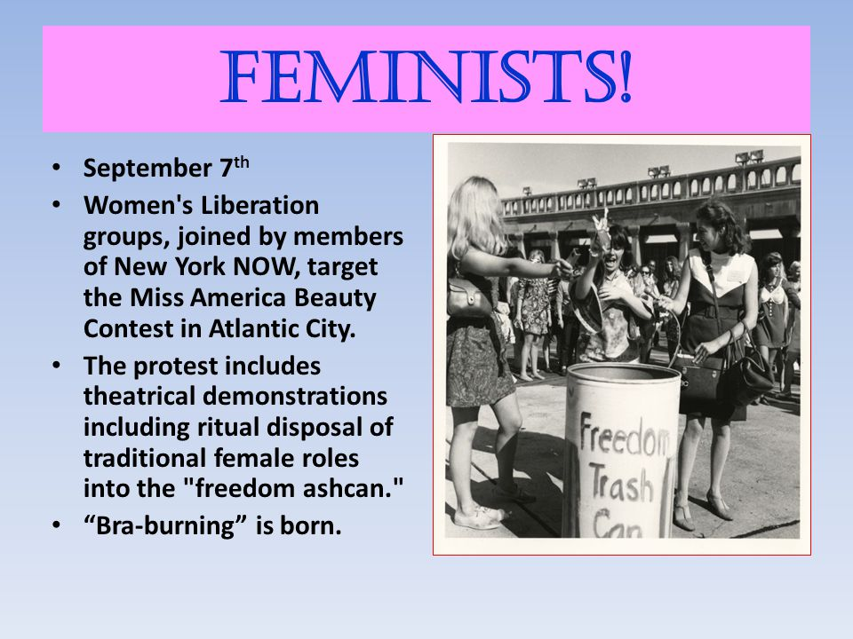 Feminists! September 7th