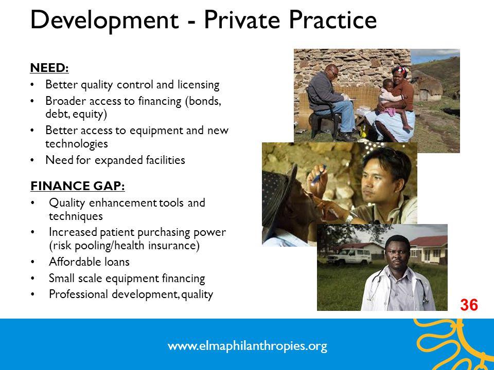 Development - Private Practice