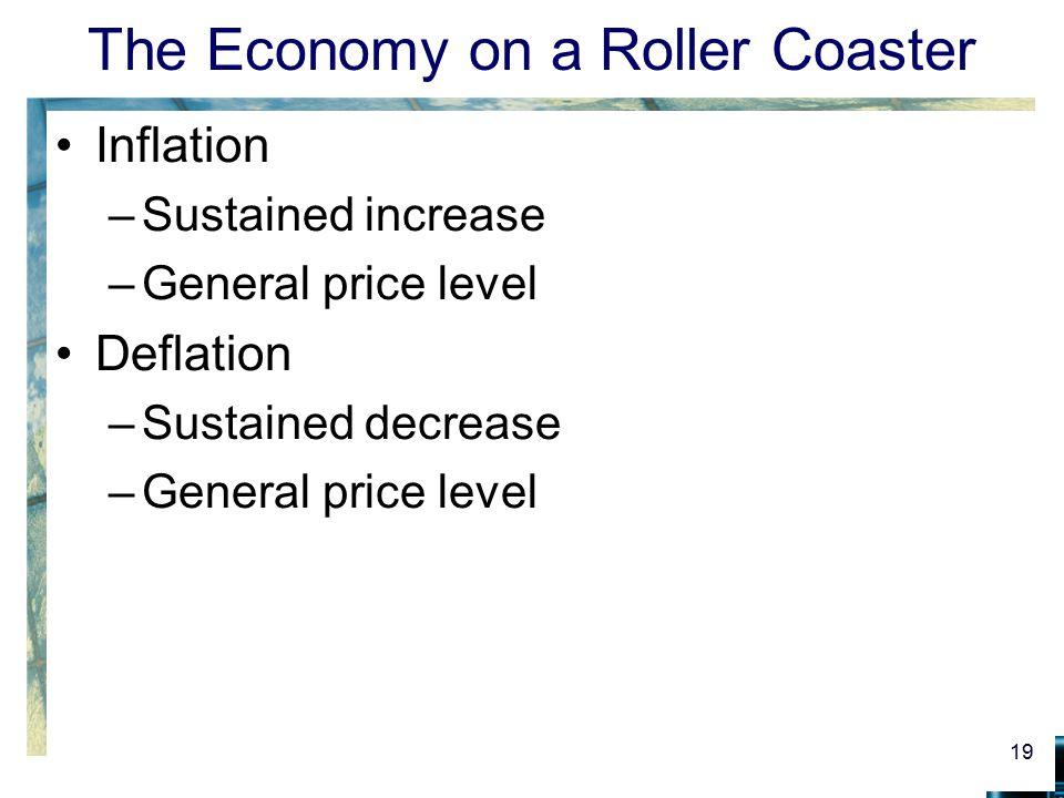 The Economy on a Roller Coaster