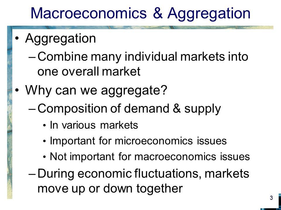 Macroeconomics & Aggregation