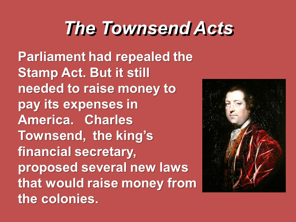 The Townsend Acts