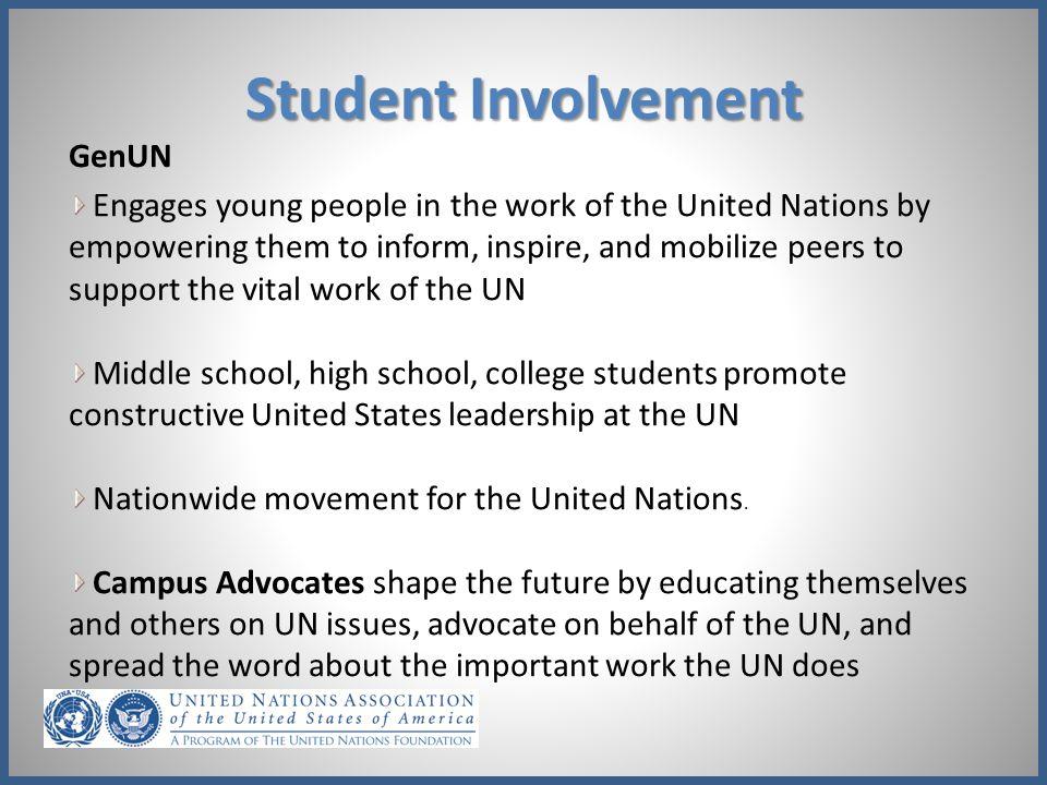 Student Involvement GenUN