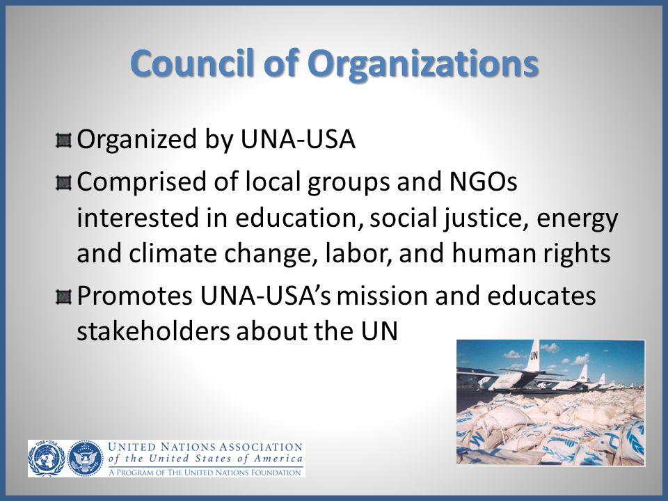 Council of Organizations
