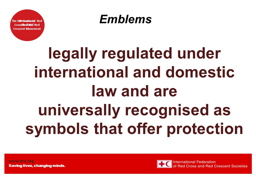 legally regulated under international and domestic law and are