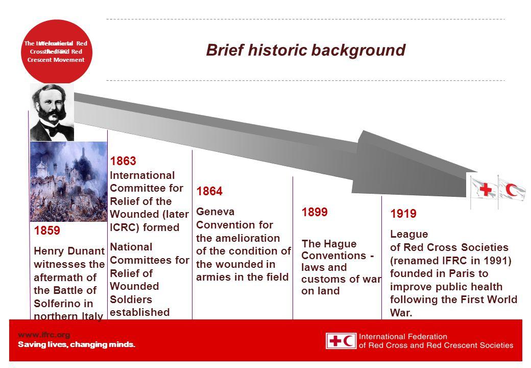 Brief historic background