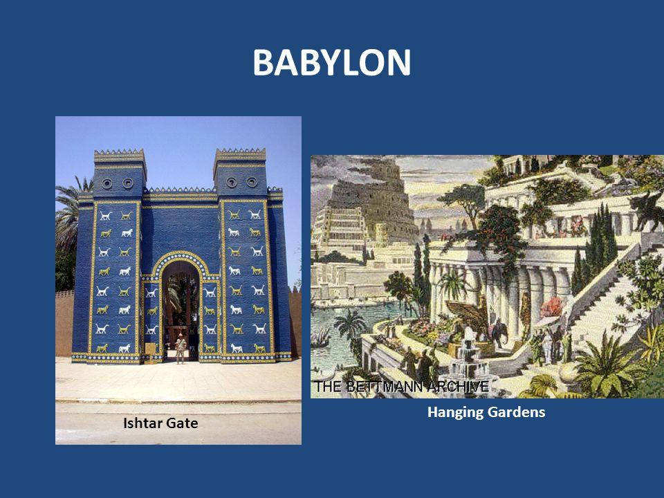 BABYLON Hanging Gardens Ishtar Gate