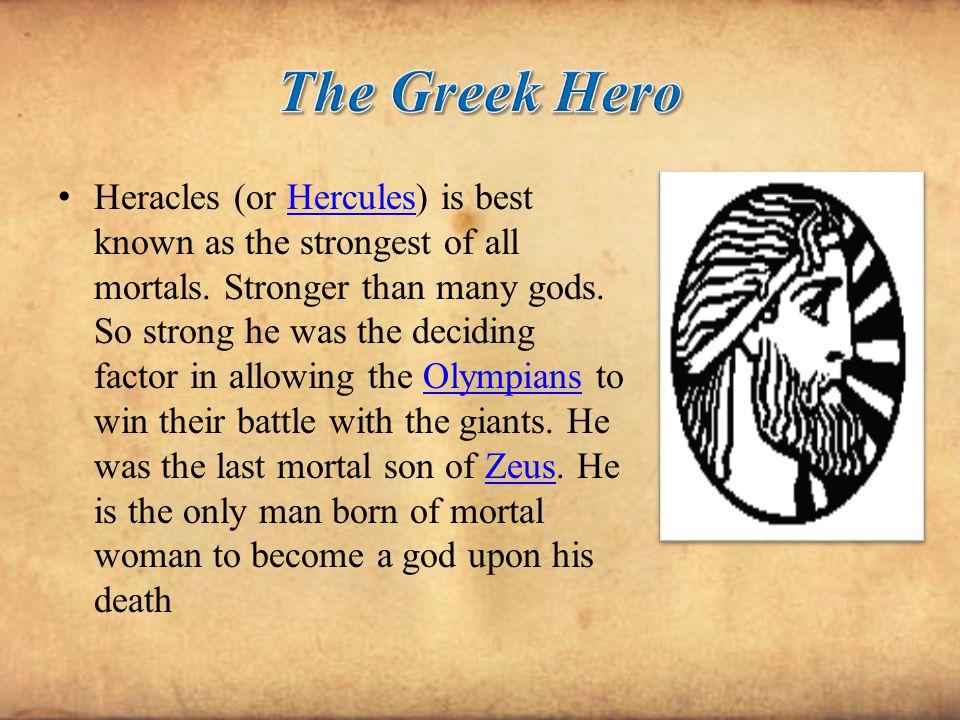 The Greek Hero
