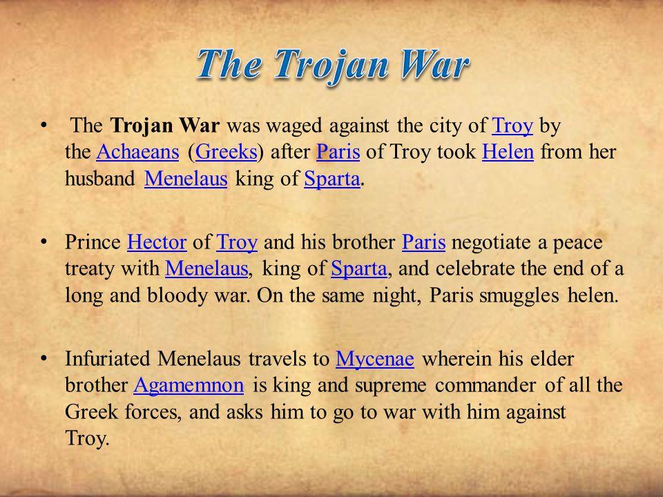 the trojan war story pdf