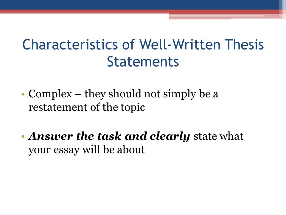 how to write a phd thesis statement