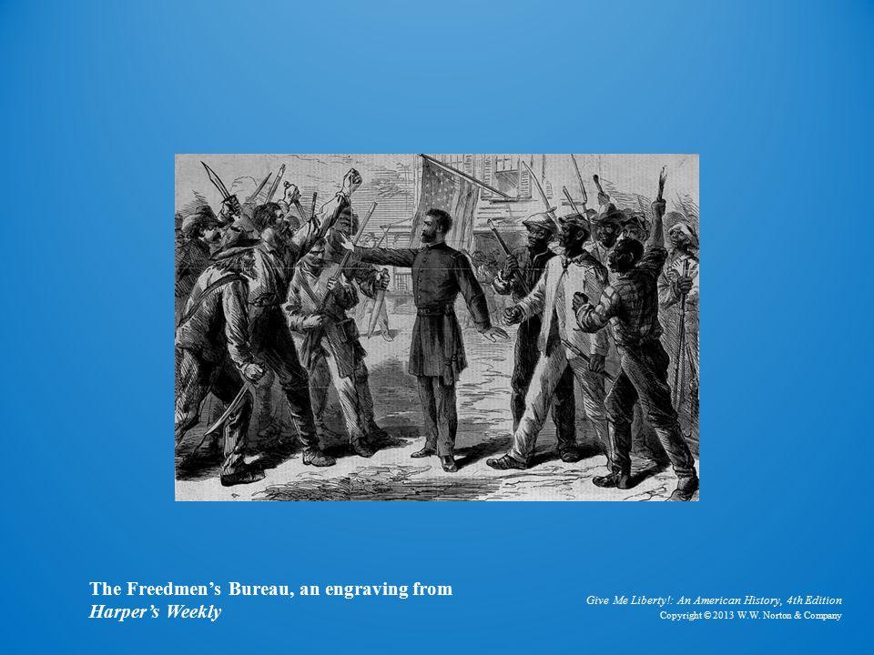 Engraving The Freedmen's Bureau