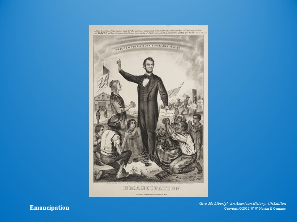 Lithograph Emancipation