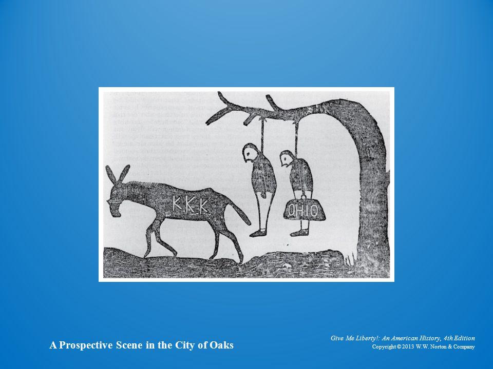 Cartoon A Prospective Scene in the City of Oaks