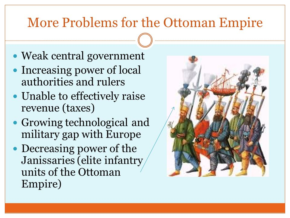 More Problems for the Ottoman Empire