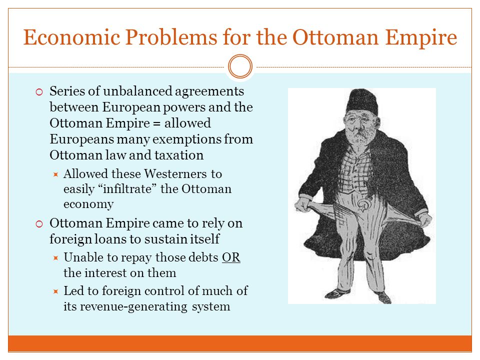 Economic Problems for the Ottoman Empire