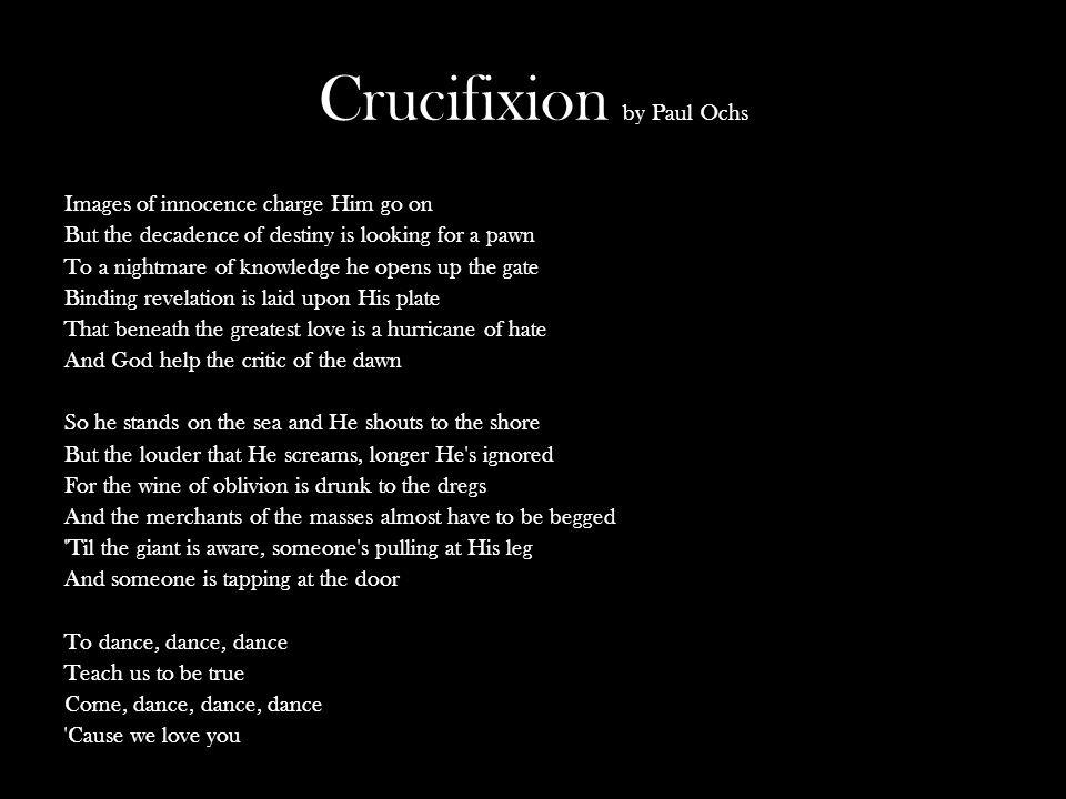 Crucifixion by Paul Ochs