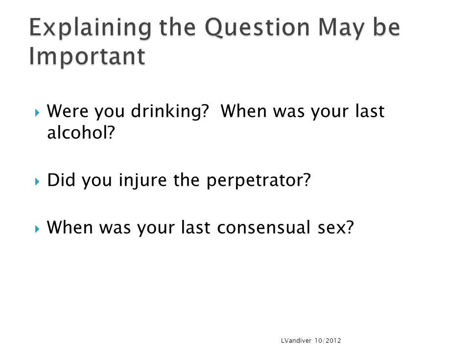 Explaining the Question May be Important
