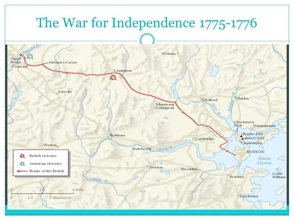 The War for Independence 1775-1776