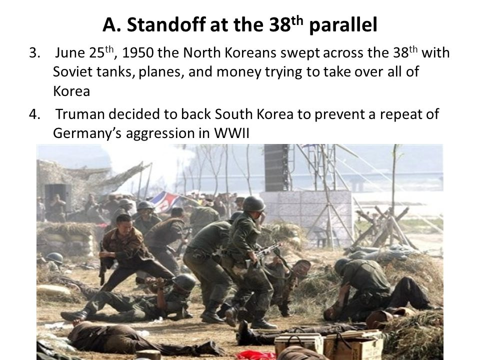 A. Standoff at the 38th parallel