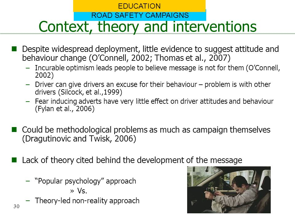 Context, theory and interventions
