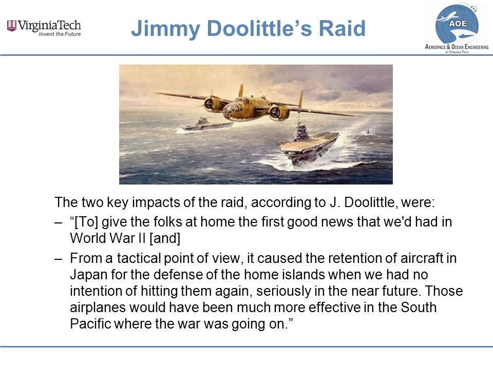 Jimmy Doolittle's Raid