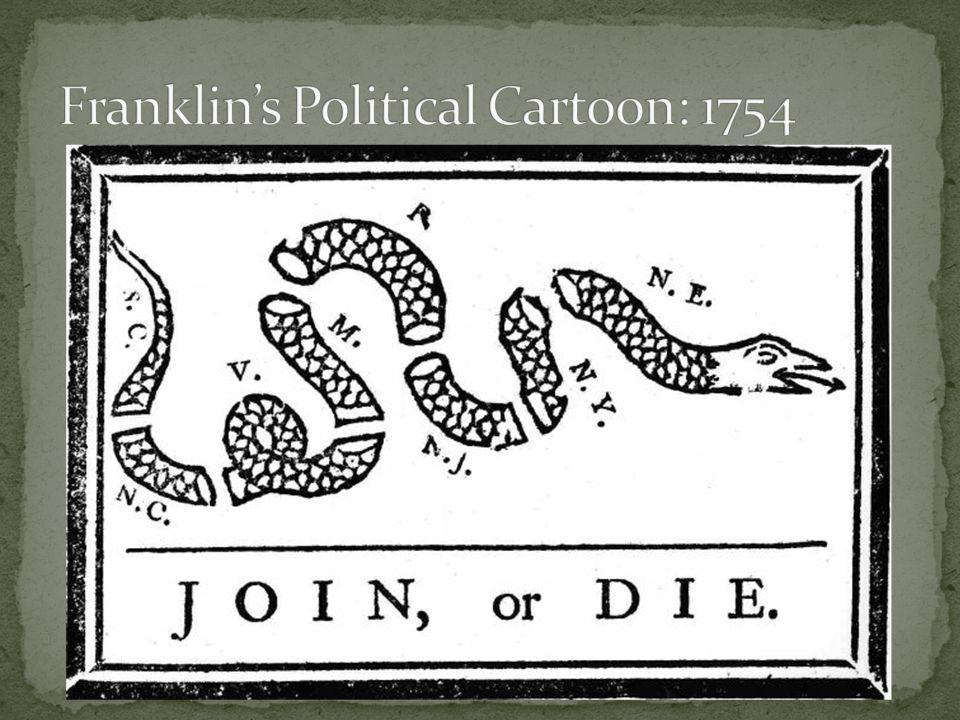 Franklin's Political Cartoon: 1754