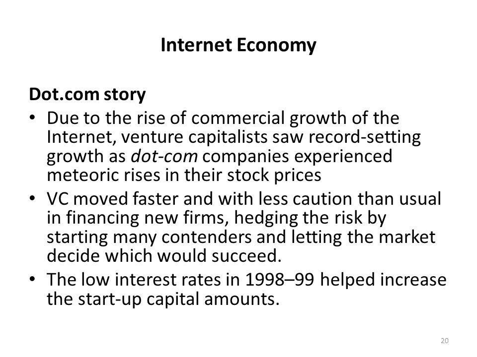 Internet Economy Dot.com story