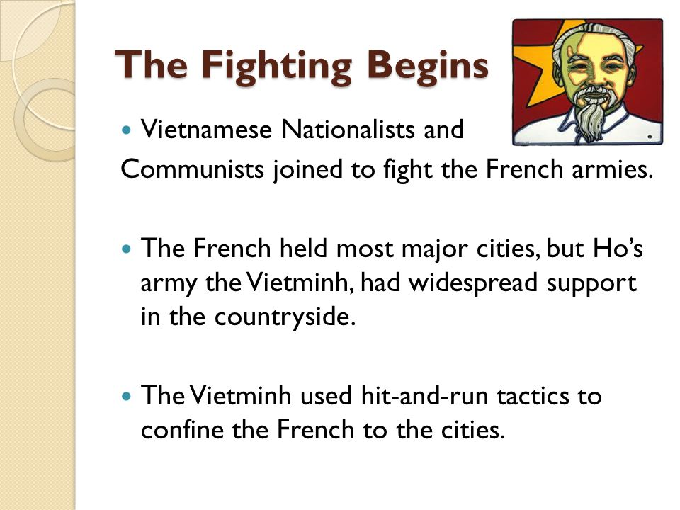 The Fighting Begins Vietnamese Nationalists and