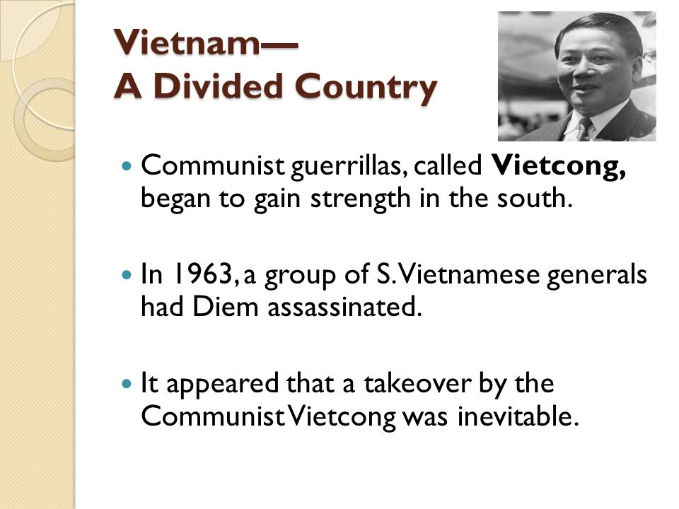 Vietnam— A Divided Country