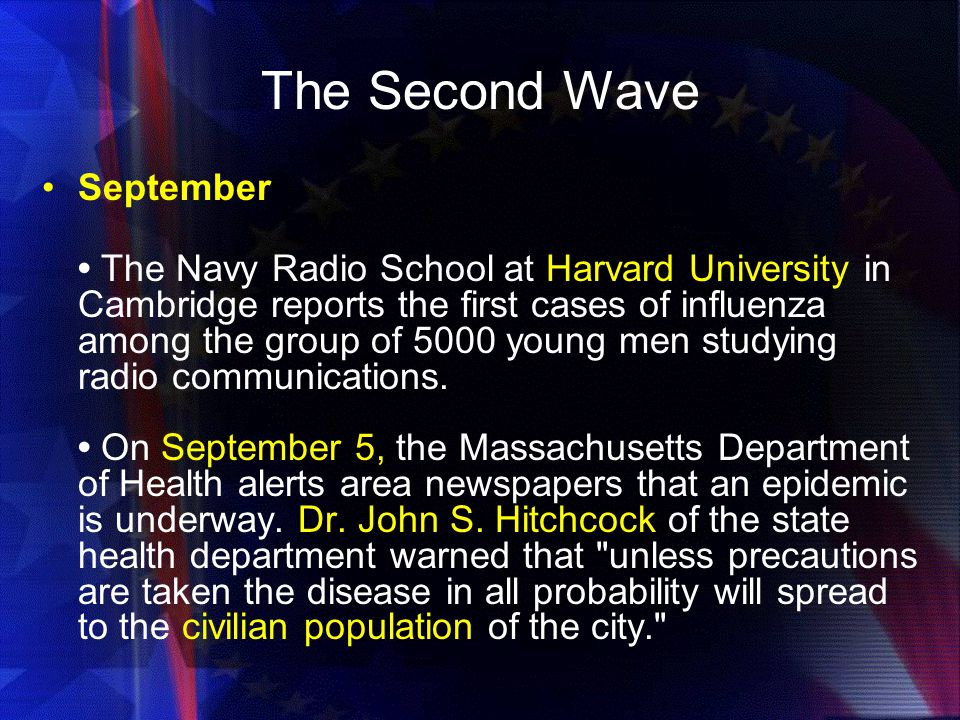 The Second Wave September