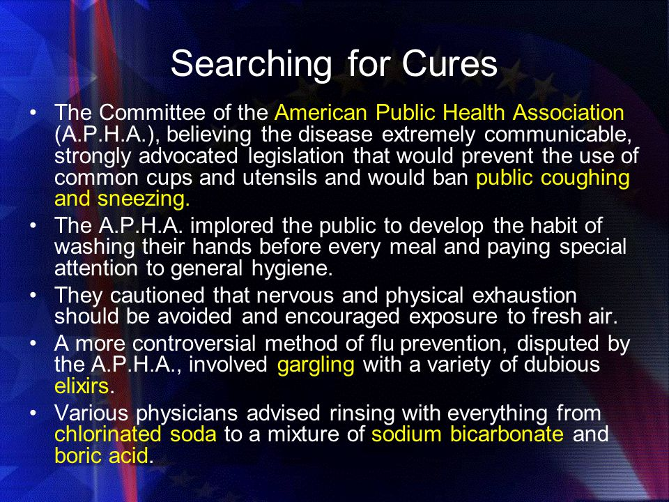 Searching for Cures