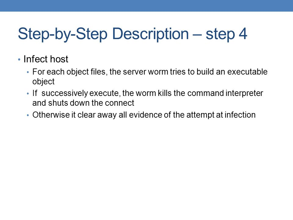 Step-by-Step Description – step 4