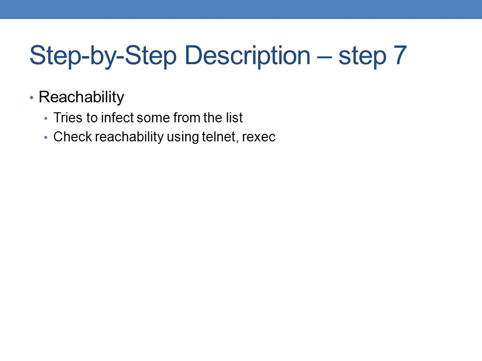Step-by-Step Description – step 7