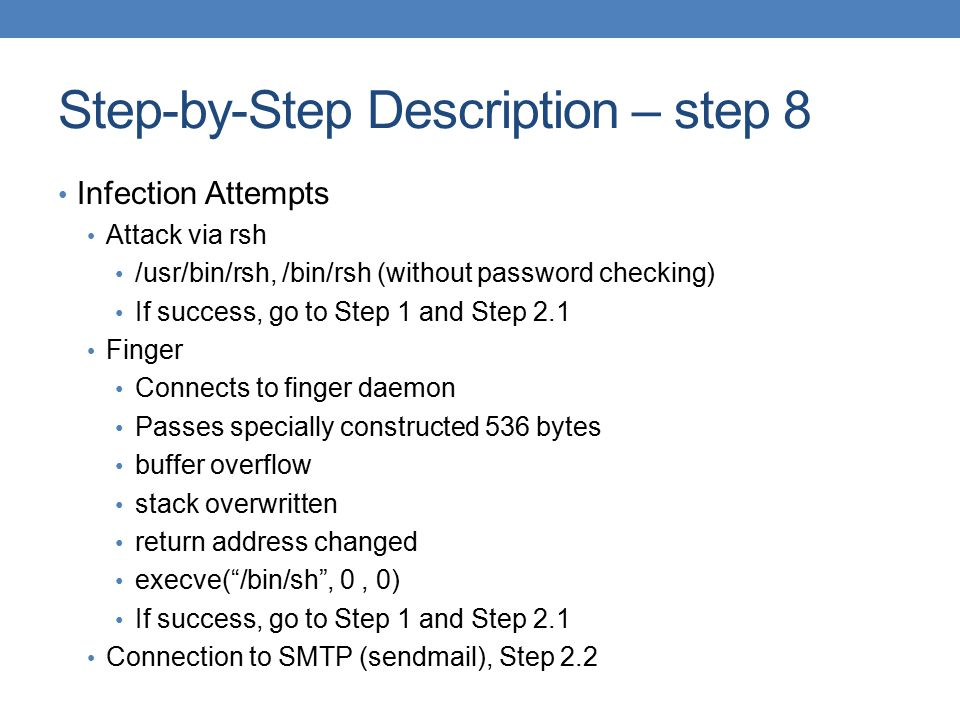 Step-by-Step Description – step 8