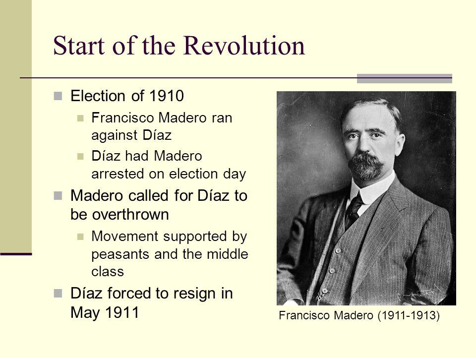Start of the Revolution