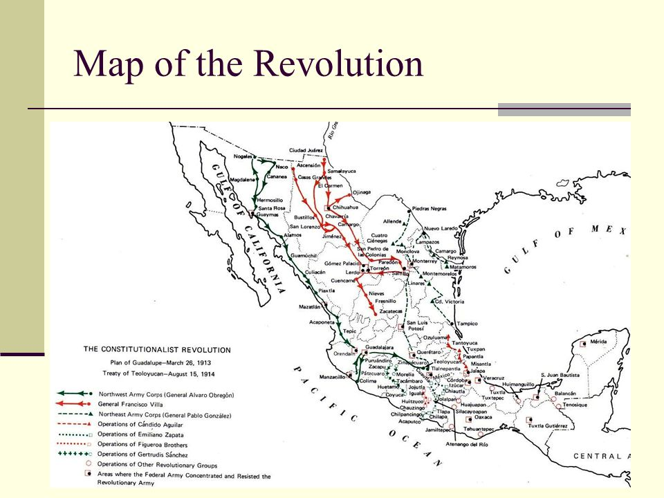 Map of the Revolution