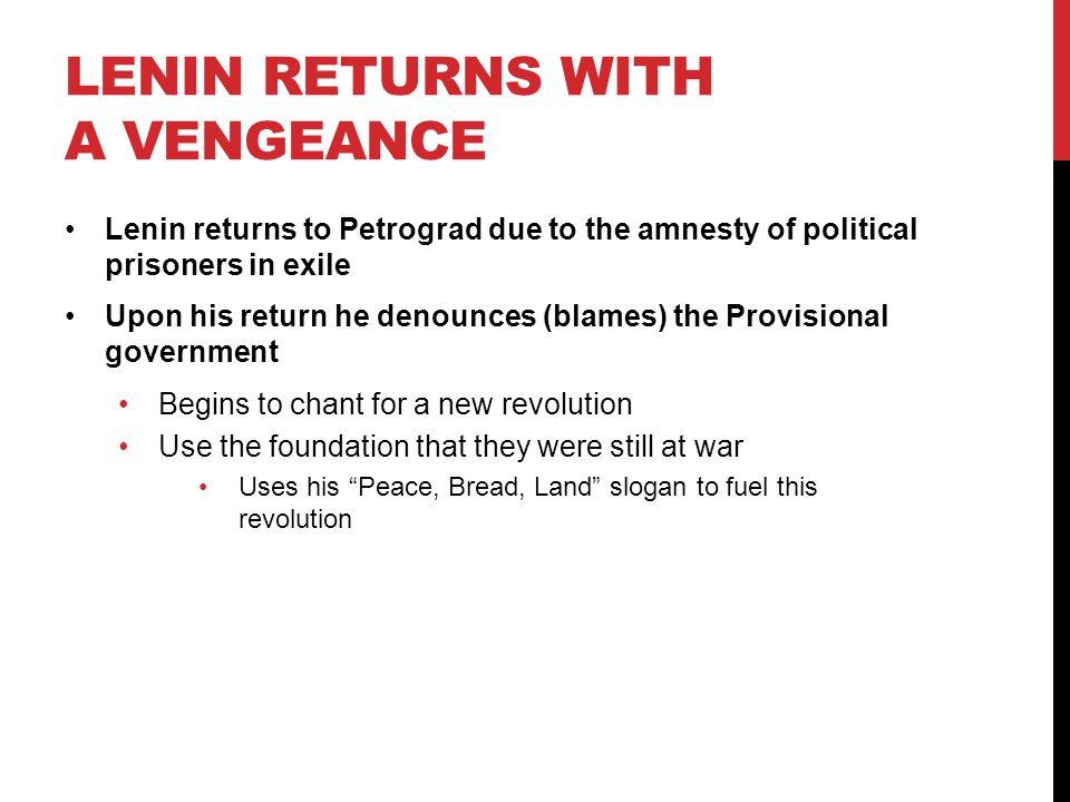 Lenin Returns with a Vengeance