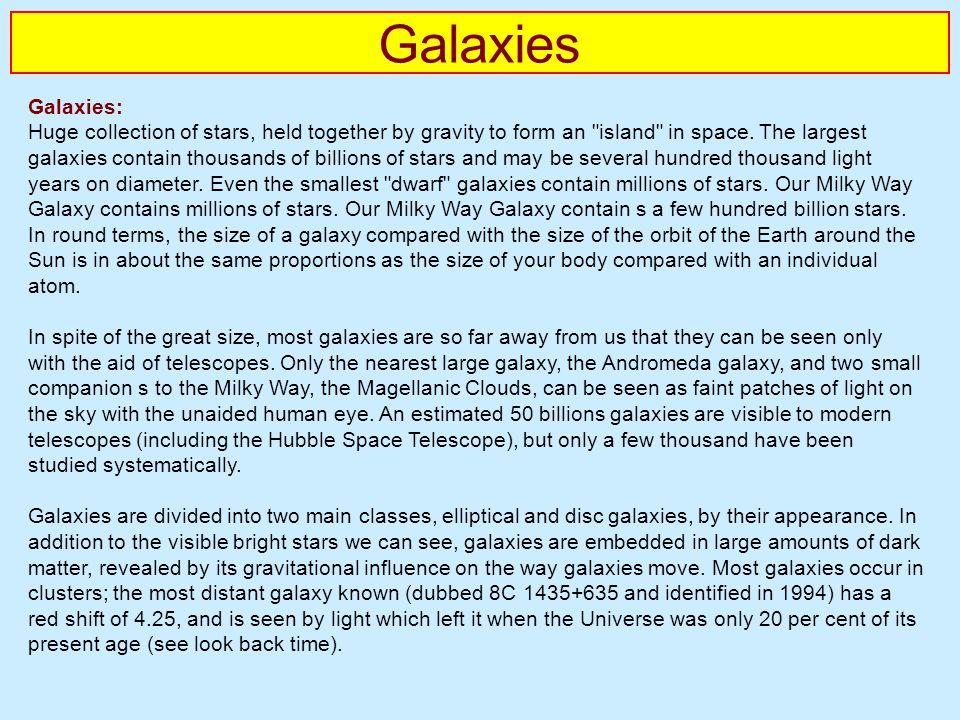 Galaxies Galaxies: