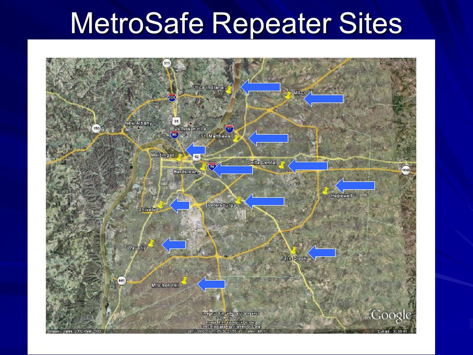MetroSafe Repeater Sites
