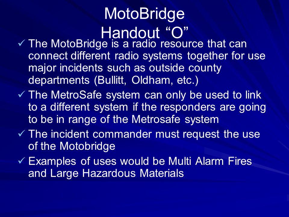 MotoBridge Handout O