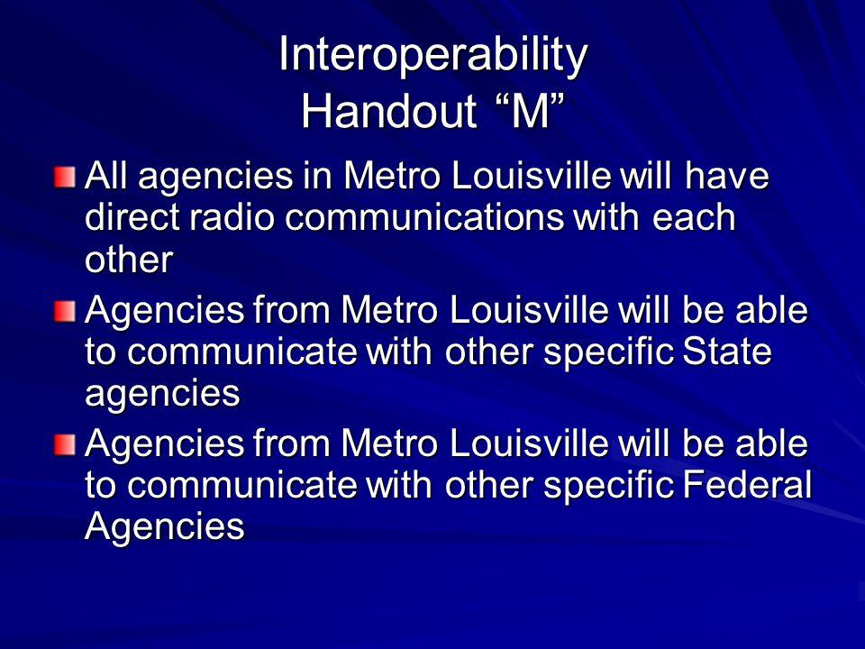 Interoperability Handout M