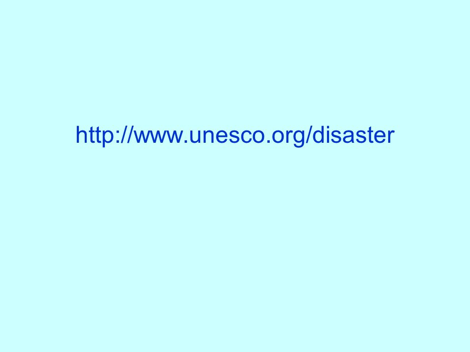 http://www.unesco.org/disaster