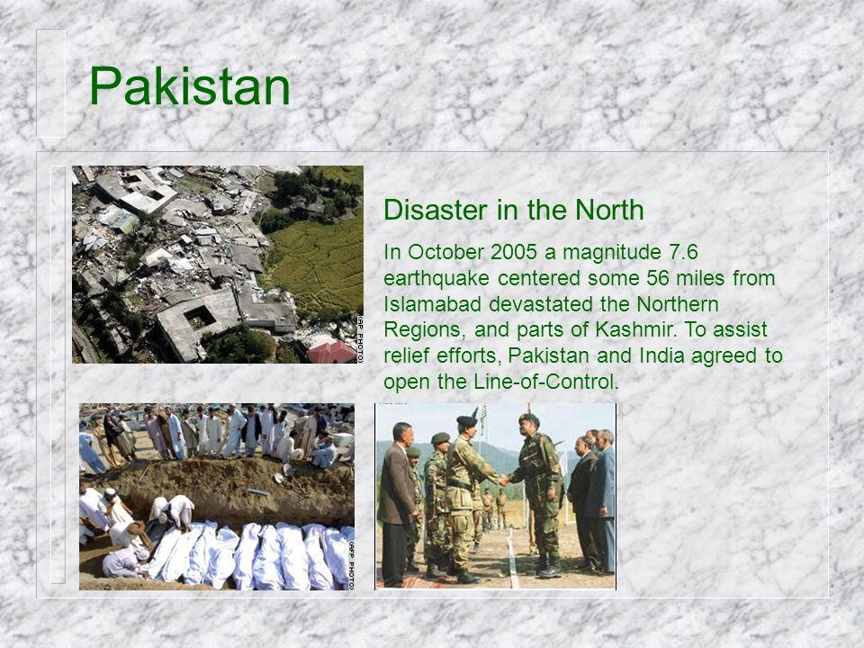 Pakistan Disaster in the North
