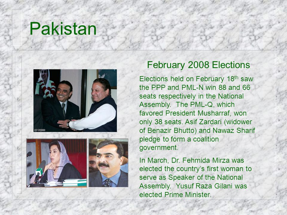 Pakistan February 2008 Elections